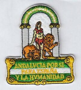 Andalusien Wappen  Patch Andalucia Parches,Spanien Spain
