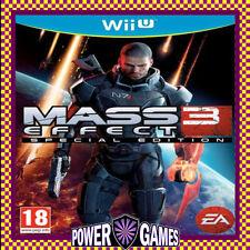 Mass Effect 3 Special Edition Wii U (Nintendo WiiU) Brand New