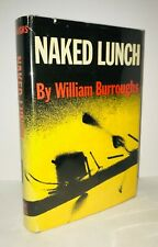 Naked Lunch/William Burroughs First Edition/First Printing!  Beautiful Collector