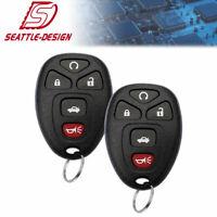 2 For Cadillac DTS - 2006 2007 2008 2009 2010 2011 Keyless Entry Remote Key Fob