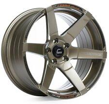 Cosmis Racing S1 18x10.5 5x114.3 ET5 Bronze W/ Milled Spoke Rims (Set of 4)
