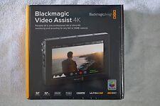 "Blackmagic Design Video Assist 4K, 7"" high resolution monitor, Ultra HD recorder"
