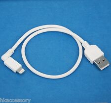 30cm 0.3m Right Angle Data Charger USB Cable WHITE for iPad Air Pro 2 mini 4 3