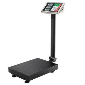 100KG/220LB Electronic Computing Digital Platform Scales Shop Weight commercial