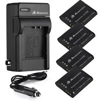 Li-90B Battery For Olympus LI-92B TG-4 TG-3 TG-2 TG-1 iHS SH-60 SP-100 + Charger