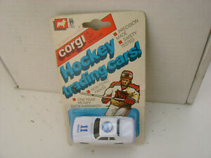 1982 CORGI METTOY #428 JAGUAR XJ-S BUFFALO SABRES HOCKEY LEAGUE TRADING CARS NEW