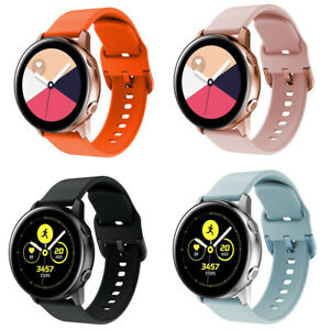 For Samsung Active/Active2 Replacement Silicone Sport Strap Watch Band Bracelet
