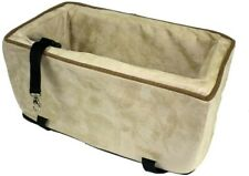 Snoozer Luxury Console Pet Car Booster Seat - Gently Used, Small, Buckskin/Java