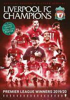 Liverpool FC Champions Magazine: Premier League Winners 2019/20 + A2 Poster