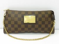 LOUIS VUITTON LV Sophie Pouch Chain Shoulder Bag N51135 Damier Used