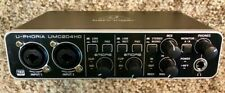 Behringer U-Phoria UMC204HD Audiophile 2x4 USB Audio/MIDI Interface with MIDAS M