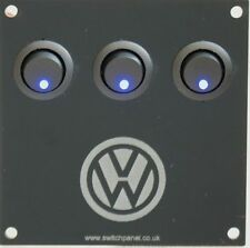VW LOGO T1/T2/T3/T4/T5 Transporter Switch Panel 12V Campervan Splitty Bay