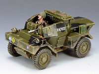 KING & COUNTRY D DAY DD163 BRITISH DINGO ARMORED CAR NORMANDY VERSION MIB