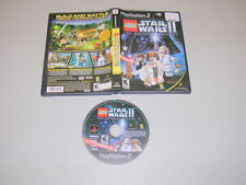 LEGO STAR WARS II 2 (Playstation 2 PS2) Game & Case BL