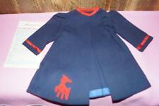 "Terri Lee 16"" Doll Clothing Blue Bath Robe Lamb Applique Tagged - Mint"