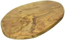 Naturally Med - Olive Wood Chopping / Cutting / Cheese Board - 12 Inch