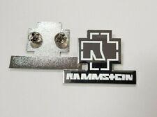 RAMSTEIN BAND Du Hast German Heavy Metal Large Enamel Pin Badge