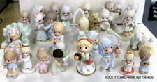 21 Precious Moments + Jonathan & David Figurine Collection Lot 1978-2012