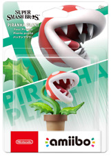 NEW Nintendo amiibo PIRANHA PLANT (Super Smash Brothers) JAPAN import NEW