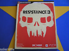 RESISTANCE 3 - STRATEGY GUIDE