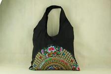Genuine Embroidered Vintage Tribal BOHO hand bag, tote bag, shoulder bag