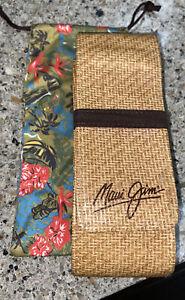 Maui Jim Glass case W/ Pouch Holder