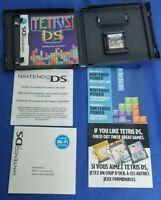 Tetris DS Nintendo DS Lite DSi XL 3DS 2DS w/Case, Manual & Inserts