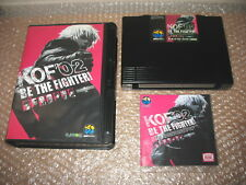 KING OF FIGHTERS 2002 NEO GEO HOME CART AES IMPORT JAP!(FOR AES CONSOLE)