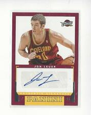 2012-13 Panini Rookie Signatures #24 Jon Leuer AUTOGRAPH Cavaliers
