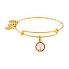 Alex and Ani июнь камень золотой расширяемый жесткий браслет A09EB245G