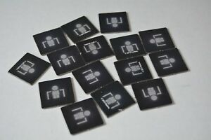 Risk Battlefield Rogue board game replacement pieces - cover tokens