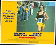 Running 1979 lobby card set  Michael Douglas, Susan Anspach, Lawrence Dane