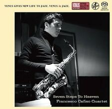 """Francesco Cafiso Quartet Seven Steps To Heaven"" Japan Venus Records SACD CD New"