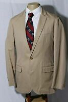J. Crew Ludlow Men's Notch Flap 2 Btn Cotton Sport Coat Jacket Blazer Size 38R
