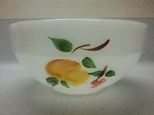 """VINTAGE FIRE KING FRUIT GAY FAD 6"""" MIXING BOWL-ANCHOR HOCKING"""