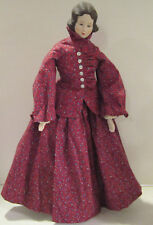 "Vint 1980's bisque Shackman 19""Lady COMPLETED kit doll-dressed-excellent quality"