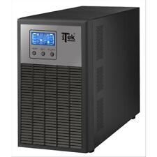 ITEK UPS WinPower 3000 - 3000VA/2400W, ON LINE, 6 Batt, LCD, 4xShucko, AVR, RS23