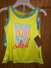 NWT Reebok Brand Girls 2pc Outfit Sz 18mo