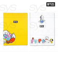 BTS BT21 Official Authentic Goods Clear File 40P 2TYPE SET By Kumhong Fancy