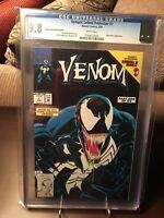 Venom: Lethal Protector #1 - CGC 9.8 Black Error - Key! Movie! Rare!