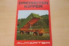 162850) Paul Auwärter 3-Seiten-Kipper Prospekt 197?