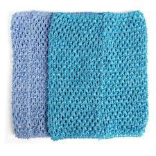 """Tube Top For Girl Child Tutu Dress Hook Material 9 """"Blue I8R3"""