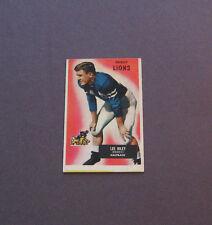 1955 - Bowman  # 21 Lee Riley  (Detroit Lions)  Halfback