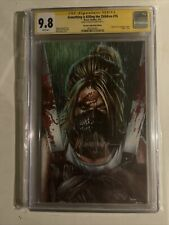 something is killing the children 16 SS CGC 9.8 Signed by Mico Suayan