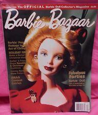 Barbie Bazarr .The Barbie Doll Collector'S Magazine.December 1999