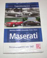 Maserati - Quattroporte, Biturbo, 3200 GT, Ghibli, Bora - Typenkompass