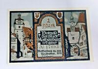 ROTHENBURG TAUBER NOTGELD 1 MARK 1921 NOTGELDSCHEIN (12325)