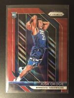 2018-19 Panini Prizm #37 JOSH OKOGIE Ruby Wave Red Prizm RC Rookie