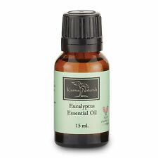 Unisex Eucalyptus Karma Organic Essential Oil 100% Pure Therapeutic Grade_15 ml