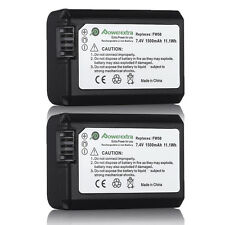 2 × NP-FW50 Battery for SONY NEX-3N NEX-5T NEX-6 NEX-7 A3000 A5000 A6000 A7